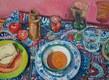 'Private pleasure'  Oil on canvas  60 x 80 cms  2015 SOLD