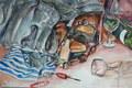 'Late night' Watercolour  2010