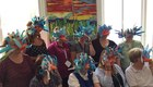 Teachers, 'The Lion King' Bird masks.