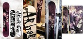 Arbor 'Eden' snowboard design