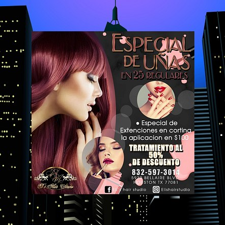 Beauty Salon Digital Flyer Design