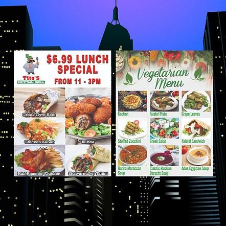 Food Special Custom Flyer Design