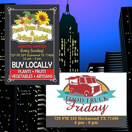 Farmers Market Event Flyer Design
