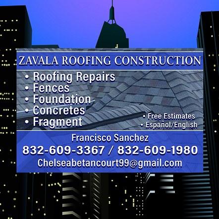 Roofing Construction Car Magnet Design