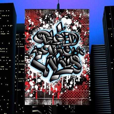 Hip Hop Graffiti Convention Cover Flyer