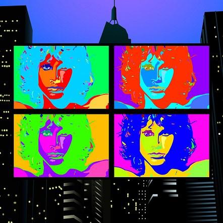 Jim Morrison Pop Art Design