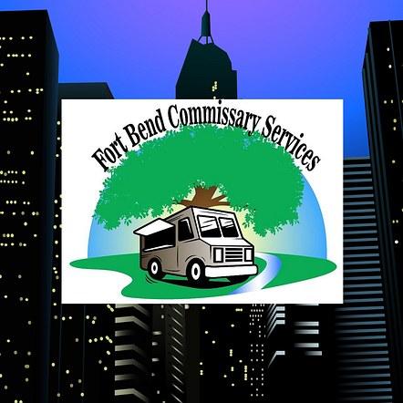 Commissary Services Custom Design Logo