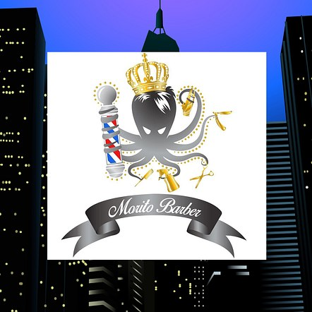 Custom Barber Logo Design