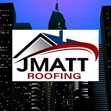 Roofing Company Custom Designed Logo