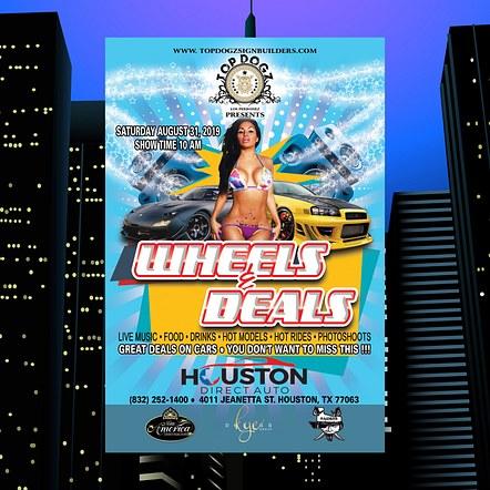 Car Show Promotion Flyer Design