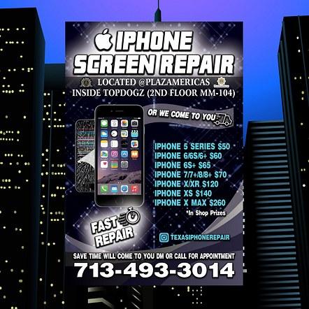 Phone Repair Promotion Flyer Design
