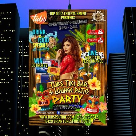 Bar & Lounge Promotion Flyer Design