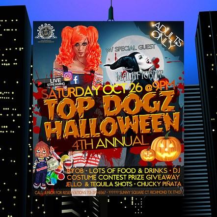 Halloween Party Promotion Digital Flyer Design