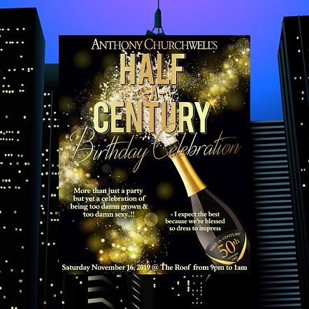 Birthday Party Promotion Digital Flyer Design