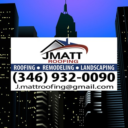 Roofing Company Car Magnet Design