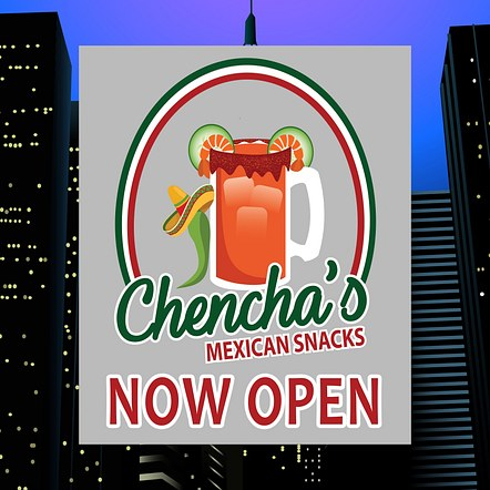 Food Restaurant Custom Design Logo