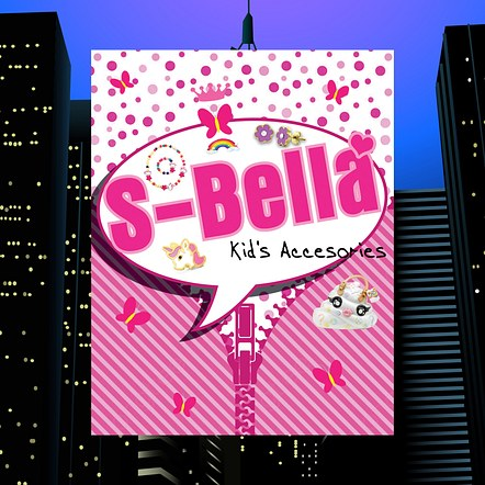 Kid's Accessories Store Demonstration Poster