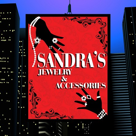 Jewelry & Accessories Store Demonstration Poster