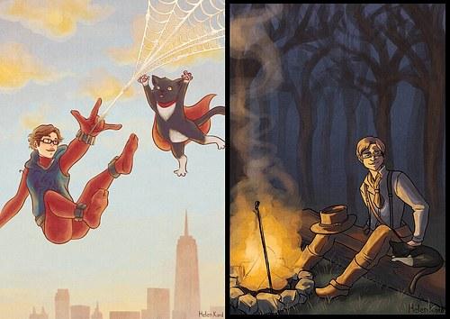 Spider-man, Red Dead Redemption