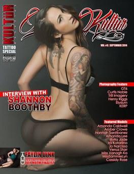 COVER: Tattoo Kultür Magazine - Volume 8