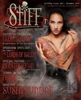 COVER - Stiff Magazine Issue 14