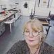 San i grafikverkstan i Ronneby Kulturcenter