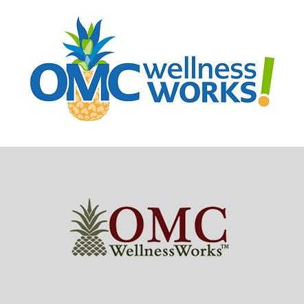 OMC Wellness Work logo and branding redesign