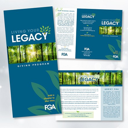 FGA Living/ Your Legacy Brochure