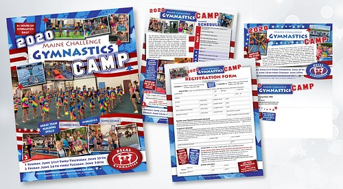 Camp brochure and registration mailer