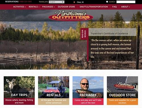 NorthwoodsOutfitters website