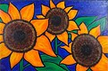 Three Little Sunflowers