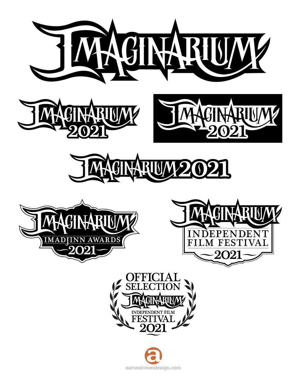 Imaginarium Convention. Logo System.