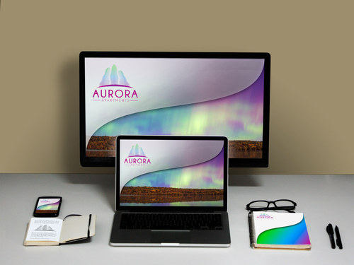 Branding, Identity and Collaterals Design for Aurora Apartments