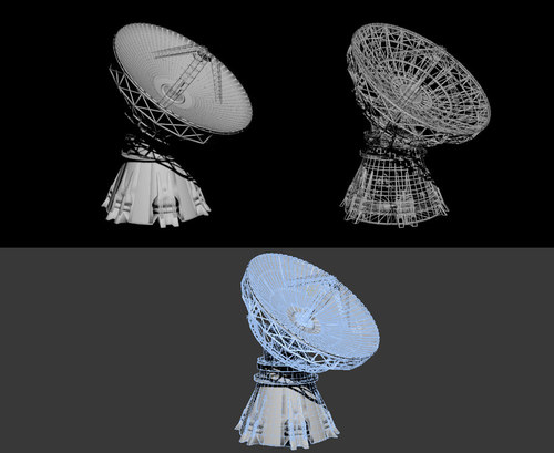 Antenna satellite Dish