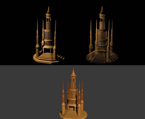 Temple blueprint