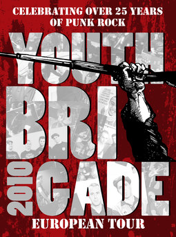 Youth Brigage Tour Poster