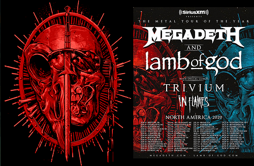 MEGADETH/LAMB of GOD