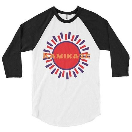 3/4 sleeve Kamikaze Shirt