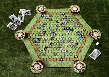 Troll Hunt gameboard