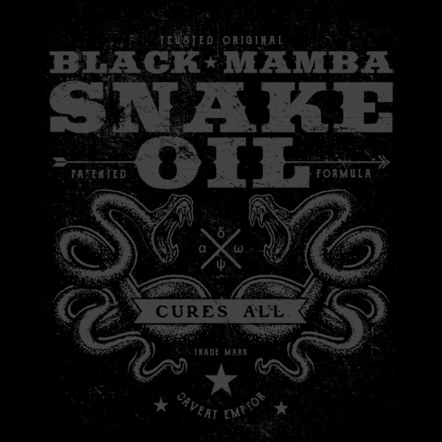 Black Mamba Snake Oil