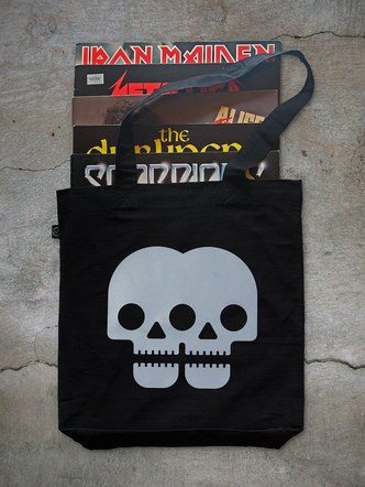 Doubleskull reflective bag