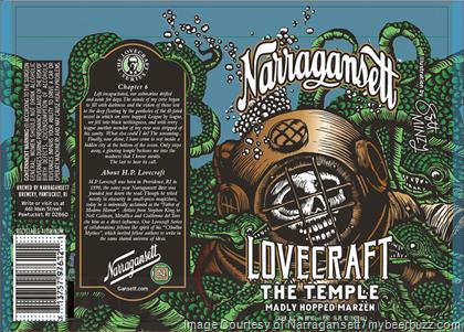 Lovecraft? Narragansett Label - Scott Minzy