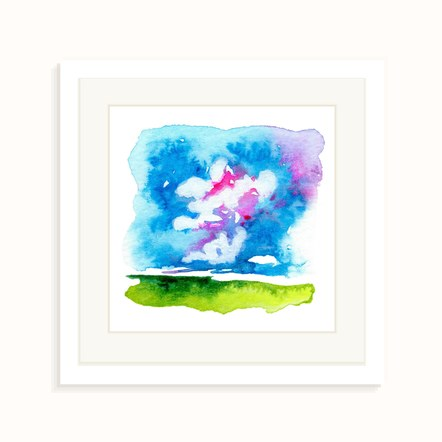 """""""Midday Bloom"""" in a Frame"""