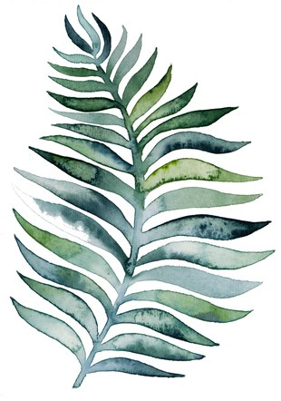 Green Leaf 2 Portrait