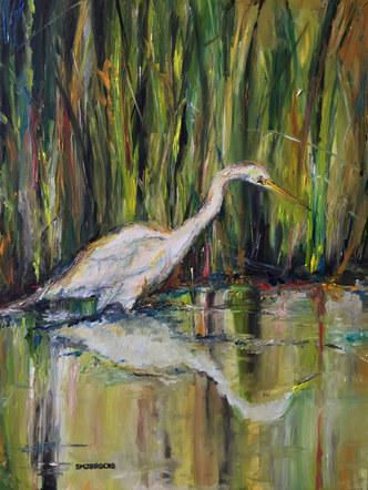 Rouge Egret
