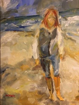 Near Wild Heaven - self portrait