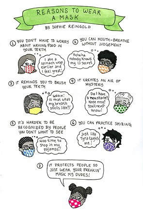 Reasons to Wear a Mask
