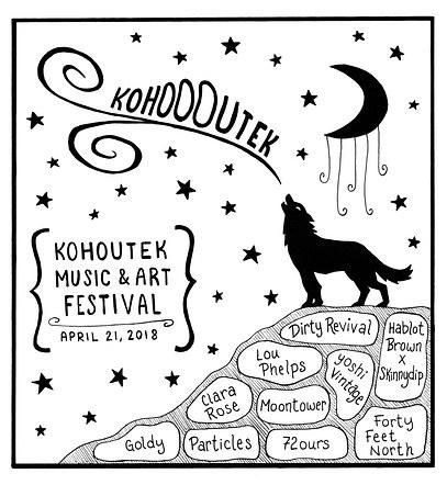 Kohoutek Music and Art Festival Poster