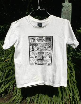 Sprouts Screen Print Design - T-shirt