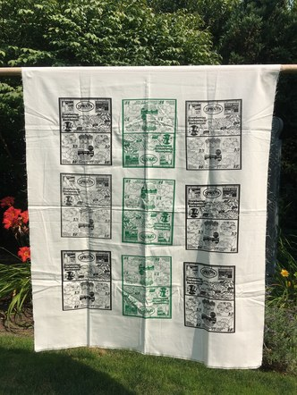 Sprouts Screen Print Design - Tapestry